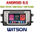 Android 6.0 Car DVD Player With GPS for