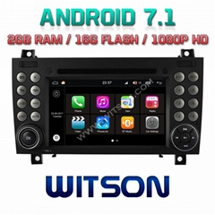 Android 7.1 Car DVD Player With GPS forMERCEDES-BENZ R171 W171 SLK (W2-Q096)