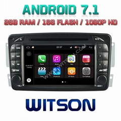 Android 7.1 Car DVD Player With GPS for MERCEDES-BENZ C CLASS W203 (W2-Q171)