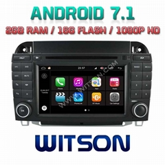 Android 7.1 Car DVD Player With GPS for MERCEDES-BENZ S CLASS (W2-Q220)