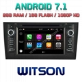 Android 7.1 Car DVD Player With GPS for For AUDI A6 (W2-Q102)