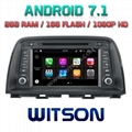 Android 7.1 Car DVD Player With GPS for