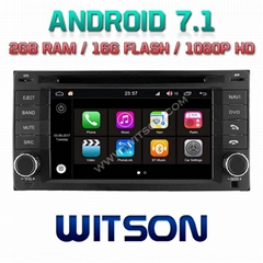 Android 7.1 Car DVD Player With GPS for For For SUBARU FORESTER (W2-Q062)