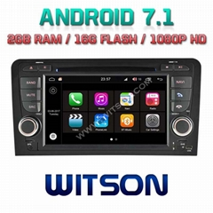 Android 7.1 Car DVD Player With GPS for For AUDI A3/S3/RS3 (W2-Q049)