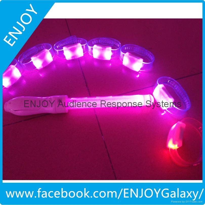 Intelligent Led glow sticks,control by software 2