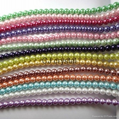 hot sale glass pearl beads