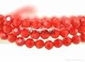 Glass beads 4mm 6mm 8mm football beads