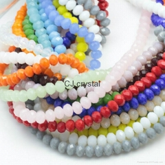 rondelle beads cheap glass beads China beads wholesale