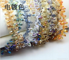 Top hole faceted teardro
