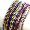 Jewelry crystal beads lampwork glass