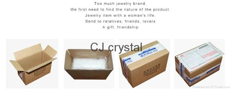 Wholesale fashion jewelry bracelet handmade charm crystal bracelet latest design 8