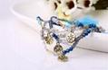 Wholesale fashion jewelry bracelet handmade charm crystal bracelet latest design 6