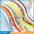 Rondelle crystal beads,glass beads