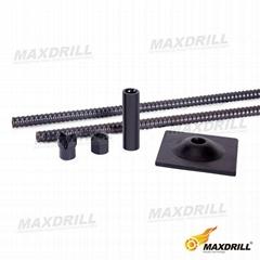 MAXDRILL Self-drilling Rock Bolt Accessories
