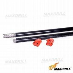 MAXDRILL Taphole drill rod and drill bit