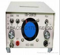 日本進口空氣正負離子檢測儀KEC-900II/990II