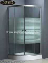 shower enclosure;shower cubicle