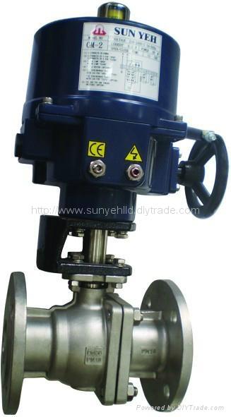 sunyeh比例调节型电动球阀 3