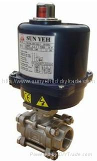 sunyeh比例调节型电动球阀 4