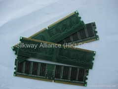 ddr memory ram 400MHZ PC3200 1GB desktop memory module