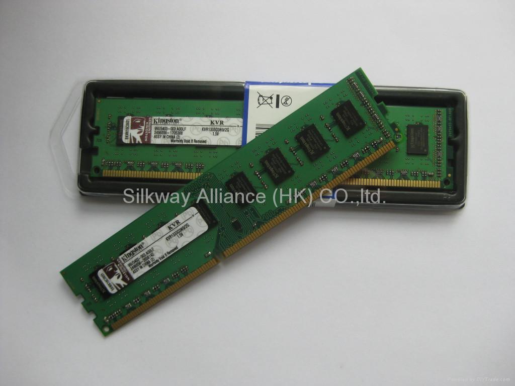 desktop computer memory module ddr3 1333mhz pc3-10600 2GB 5