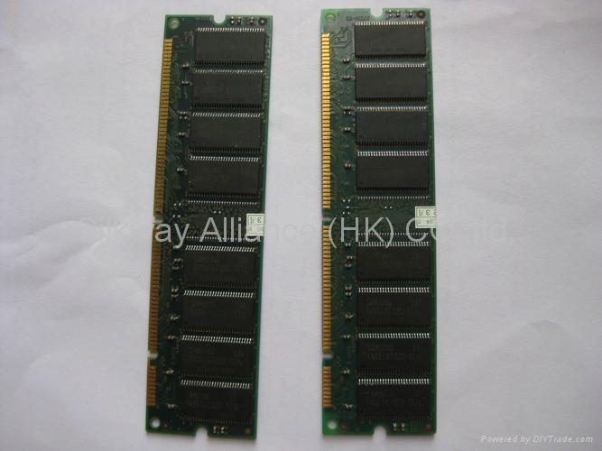 臺式電腦內存 SDRAM pc133 256MB 2