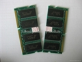Laptop memory SODIMM SDRAM PC133 512MB & 256MB 100% compatible 3