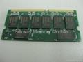 Laptop memory SODIMM SDRAM PC133 512MB & 256MB 100% compatible 4