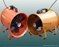 Portable axial flow fan