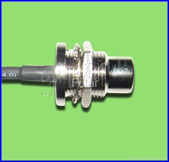FME male bulkhead mount connector