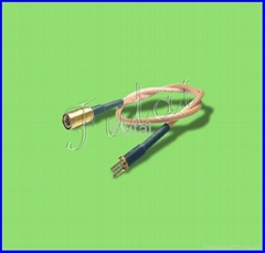 SMB Male Plug to Terminal with RG316 Pigtail Cable