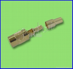 SMB Female  Straight Connector for RG174,RG316