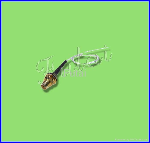 SMA connector to IPEX pigtail/jumper cable