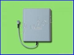 Wall mount outdoor antenna