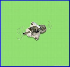 TNC Female Flange Mount for RG174 Cable