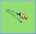 SMA Female Bulkhead Connector to IPEX with 1.13 /0.81/1.37 Pigtail Cable