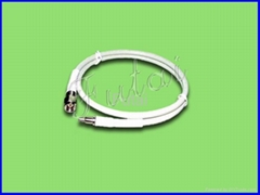 MCX Male to SMA Male with RG58U Pigtail Cable