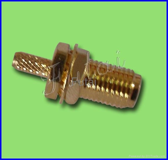 SMA Female RF Coaxial Connector for RG174 Cable
