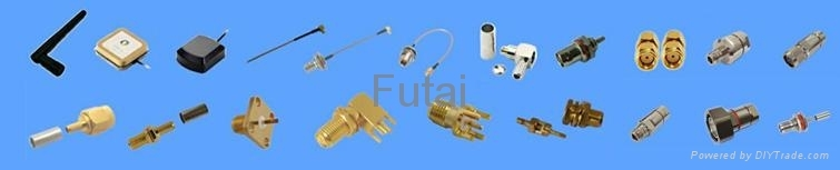 RF Coaxial Connector,Pigtail Cable and Antenna