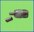 N Female Crimp Connector for RG58U Cable