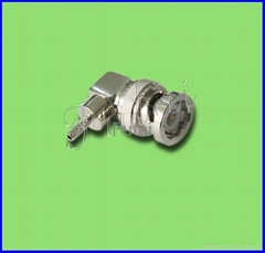BNC Male R/A RF Coaxial Connector for RG174/316 Cable