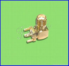 SMA Female Right Angle  PCB RF Coaxial connector (Hot Product - 2*)