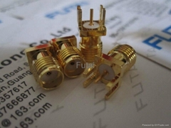 Gold Plated SMA RF Coaxial  Connector