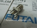 SMA Connector female PCB Edge mount Nickel Plated
