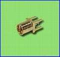MMCX Straight Female Connector for PCB-RF Coaxial Connector