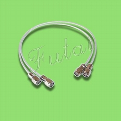 TNC Male to TNC Male Connector with RG142 Pigtail /RF Coaxial Cable