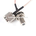 High Quality Customized RF Coaxial F to TNC Cable
