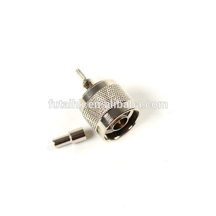 RF Coaxial N Male Connector for RG174 Cable  2