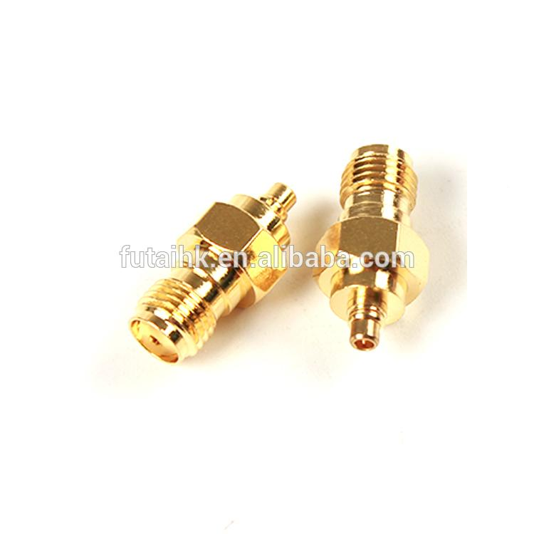 RF Coaxial SMA Female to MMCX Male Adapter  1