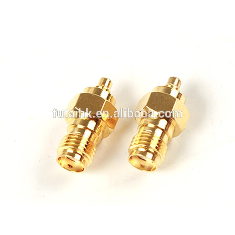 RF Coaxial SMA Female to MMCX Male Adapter  2
